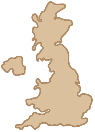 A tan map of the UK