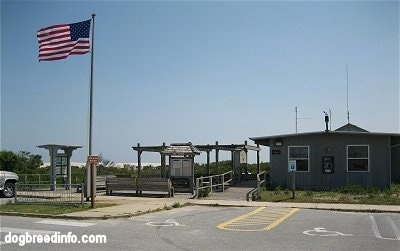 Assateague Ranger pay station