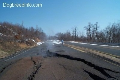 A Steaming Crack in Highway 61